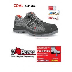 Upower Scarpa di Sicurezza Coal S1P