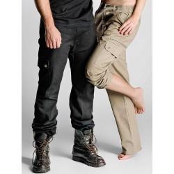 MYDAY Pantalone Multitasche Tiger Blu Navy