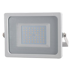 FARO LED SMD SLIM 50W ULTRASOTTILE BIANCO IP65